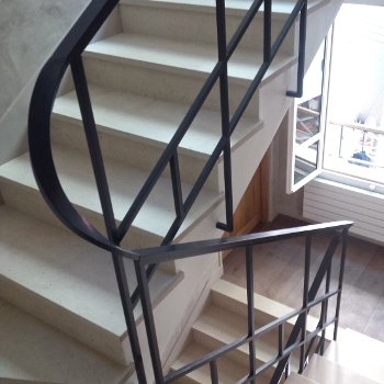 Railings carbon steel