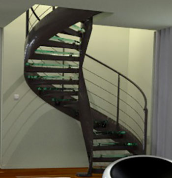 Stairs spiral